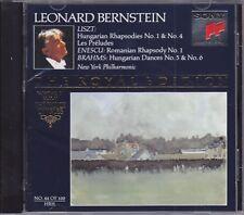 Bernstein The Royal Edition #44 - Liszt: Hungarian Rhapsodies Nos. 1 & 4, Enescu