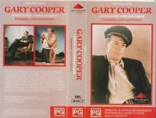 GARY COOPER AMERICAN LIFE, AMERICAN LEGEND EASTWOOD  AS NEW RARE  PAL VHS VIDEO