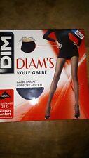 Collant Dim Diam's voile galbé taille 3 noir neuf