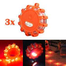 3x Magnetic Road LED Emergency Beacon Roadside SOS Flare Safety Strobe Light CAO