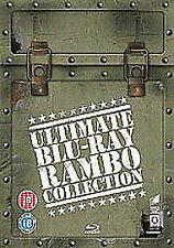 Rambo - The Ultimate Blu-Ray Collection 4 Disc Set Stallone Rocky
