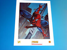 Spider-Man Lithograph Marvel Comics by David Michael Beck