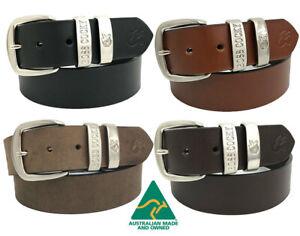 Boss Cocky Leather Muster work belt Australian Made RM