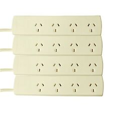 Click POWERBOARD 4Pc 4-Outlet w/ Overload Protection, Wall Mountable, *AUS Brand