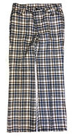Vintage Levi's Men's Plaid Big E Bell Bottom Pants Size 32 x 31 USA Talon 42