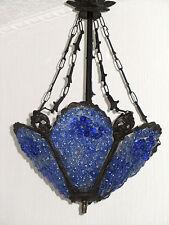 Schöne Handgearbeitete Antik Messing-Glas Dekorative Kronleuchter, Lüster