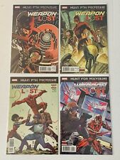 Hunt For Wolverine Weapon Lost #1-4 1 2 3 4 MARVEL NM Complete Set Lot Run