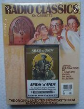 Radio Classics Amos N Andy Cassette New Sealed Radio Broadcast Old Time