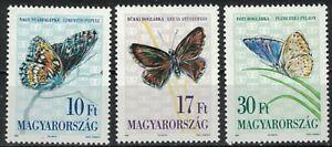 HUNGARY:1993 SC#3399-01 MNH Butterflies