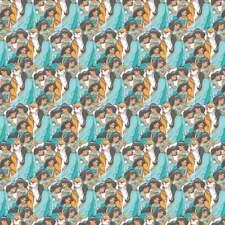 Disney Fabric Princess Jasmine Packed 100% Cotton Fabric By The Yard