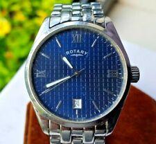Vintage Rotary Dolphin Men's Quartz Watch - Blue Dial