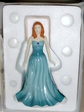 Royal Doulton December Turquoise GEMSTONE Figurine HN4981 Boxed With Certificate