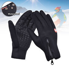 Mens Women Winter Warm Gloves Waterproof Windproof Thermal Touch Screen Mittens