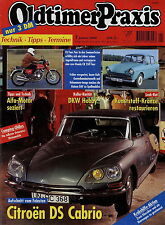 Oldtimer Praxis 1 00 2000 Honda CB 350 Four Daf 33 44 55 DKW Hobby Citroën DS