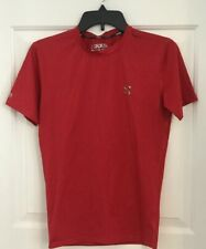 Men's Form Performance Compression Short Sleeve Shirt Red Size M