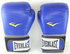 Everlast Ta : 12 (Train Advanced) 12 ounce Pro Style Blue Training Gloves w/Bag