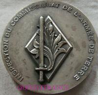 MED11916 - MEDAILLE INSPECTION DU COMMISSARIAT DE L'ARMEE DE TERRE