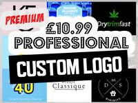 Premium Professional Custom Logo Design Unlimited Revisions Business Graphic