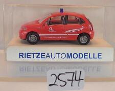 Rietze 1/87 51165 citroen c3 Limousine bomberos Luxemburgo OVP #2574