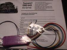 TSUNAMI SOUNDTRAXX 827102 DECODER EMD 645 TURBO TSU-1000 BIGDISCOUNTTRAINS
