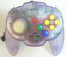 """ HORI PAD MINI 64 CONTROLLER CLEAR PURPLE "" NINTENDO 64 N64 JAPAN"