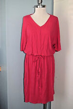 Coldwater Creek M 10 12 pink kimono sleeve knit dress Excellent  blouson casual