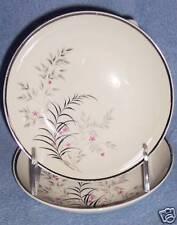 Jeannine PARISIENNE ROYAL JACKSON 2ct SAUCE FRUIT BOWLS vintage white silver