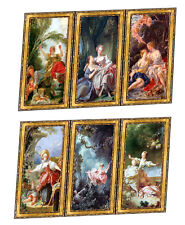 Dolls House Victorian Wall Panels choose from 1/12th or 1/24th scale #46