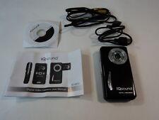 Iqsound Digital Camcorder Camera 3 MegaPixel Black Lcd 1.5-in Color Iq-8300