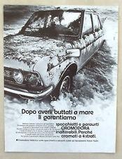 E269-Advertising Pubblicità-1975 - CROMODORA FABBRICA RUOTE SPECCHIETTI PARAURTI