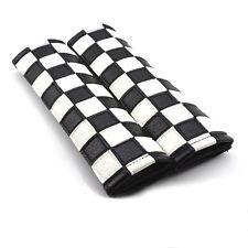 Cubrecinturones MINI Cuadros Checkered (cooper,S,one,countryman,clubman,r53,r56)
