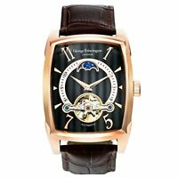 George Etherington Farringdon Mens Watch Self Winding-Rose Gold Birthday Gift