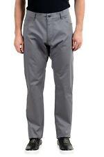 Dolce & Gabbana Gray Men's Straight Leg Jeans US 42 IT 48