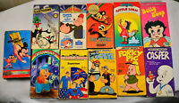Cartoon Classics VHS Lot Looney Tunes Bugs Daffy Casper Porky Betty Popeye Mouse
