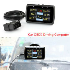 Car OBDII Driving Computer Speed Meter Fuel Consumption Water Temperature Gauge