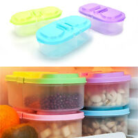 Plastic Kitchen Container Fresh Fruit Food Snacks Storage Sauce Box Food CaM_ne