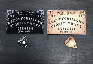 Dolls House 2 Pack Ouija / Spirit Boards  Halloween, Witch, Haunted, Seance