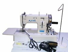 Canvas Upholstery Sewing Machine Zig Zag  Straight Stitch Walking Foot Portable