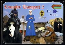 Strelets Models 1/72 Crusader Transport Set 2 Figure Set