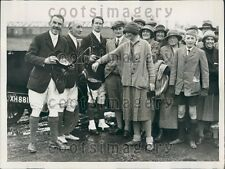 1926 Hunt Staff Boxing Day Meet Worcester Park  Press Photo