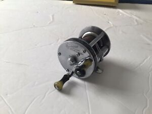 Very Good Vintage Shakespeare Wondereel Deluxe 1922 Nickel Silver Casting Reel