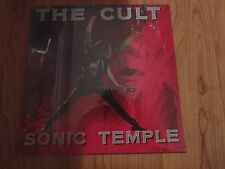 Cult - Sonic Temple LP sealed vinyl record NEW RARE cut out