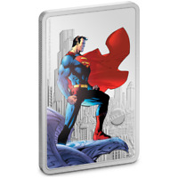 2021 SUPERMAN™ - The Man of Steel 1oz Silver Coin