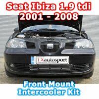 SEAT IBIZA 1.9 TDI LOWER FRONT MOUNT INTERCOOLER KIT 2001 - 2008 RED