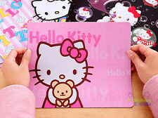 New Cute Hello Kitty Durable PC Computer Laptop Mouse Pad Thin Mat Mice Pad