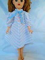 "Pink Nylon Net Slip Petticoat Crinoline 14/"" Doll clothes fits Ideal Toni P-90"