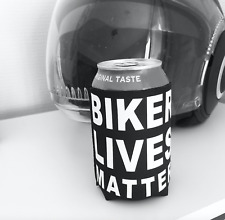 Biker Lives Matter can cooler/Beer/Biking/Motorcycle novelty drinks gift