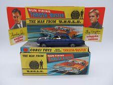 CORGI TOYS 497 MAN FROM UNCLE GUN FIRING THRUSH-BUSTER CAR 1967 1ST SERIES
