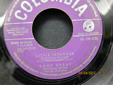 Tony Brent Little Serenade & Chanson D'Amour - Columbia 45RPM