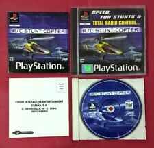 R/C Stunt Copter - PSX - PS1 - PLAYSTATION - USADO - EN BUEN ESTADO